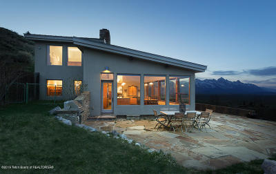 Jackson WY Single Family Home For Sale: $2,995,000