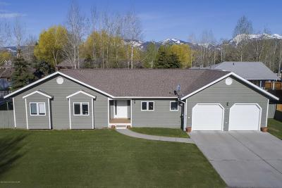 Jackson WY Single Family Home Pending Contingent: $895,000