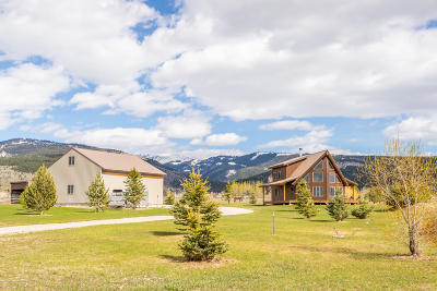 Teton Village, Tetonia, Driggs, Jackson, Victor, Swan Valley, Alta Single Family Home For Sale: 4399 Barrel Roll Trail