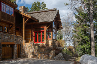 Teton Village Single Family Home For Sale: 7750 N Granite Ridge Road