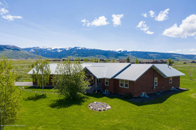 Teton Village, Tetonia, Driggs, Jackson, Victor, Swan Valley, Alta Single Family Home For Sale: 37 W 2000 S