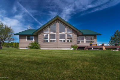 Teton Village, Tetonia, Driggs, Jackson, Victor, Swan Valley, Alta Single Family Home For Sale: 8641 N 10000 W