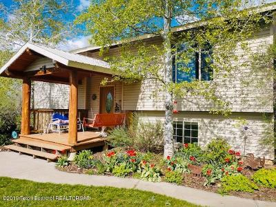 Tetonia Single Family Home For Sale: 227 E 7000 N