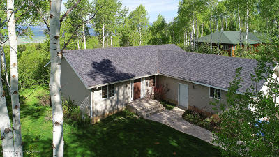 Star Valley Ranch Single Family Home For Sale: 119 Alpenglow