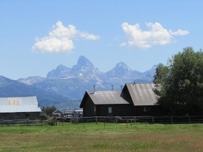 Teton Village, Tetonia, Driggs, Jackson, Victor, Swan Valley, Alta Single Family Home For Sale: 1890 N 4000
