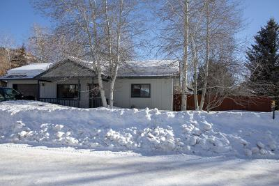 Teton County Single Family Home For Sale: 2060 Corner Creek Ln