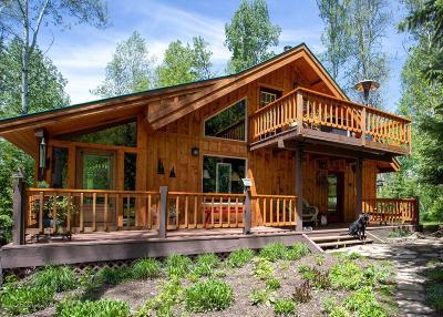 Thayne Single Family Home For Sale: 43 East Elkhorn
