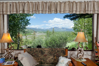 Teton Village, Tetonia, Swan Valley, Victor, Driggs, Jackson, Alta Single Family Home For Sale: 6740 S Henry's Road