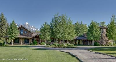 Teton County Single Family Home For Sale