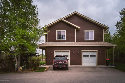 Driggs Condo/Townhouse For Sale: 424 Forest View Dr