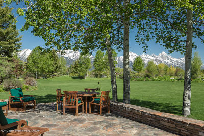 Jackson WY Single Family Home For Sale: $12,500,000