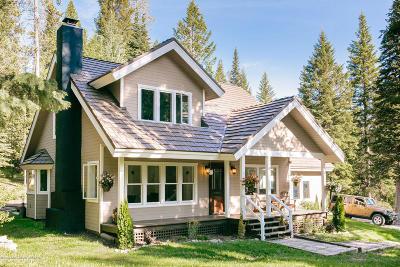 Driggs, Felt, Tetonia, Victor, Alta, Hoback Jct., Jackson, Moran, Teton Village, Wilson Single Family Home For Sale: 6425 W Burcher Rd.