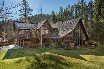 Driggs, Felt, Tetonia, Victor, Alta, Hoback Jct., Jackson, Moran, Teton Village, Wilson Single Family Home For Sale: 6100 W Paintbrush Trail