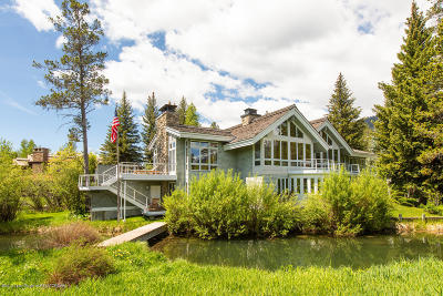 Driggs, Felt, Tetonia, Victor, Alta, Hoback Jct., Jackson, Moran, Teton Village, Wilson Single Family Home For Sale: 3400 N Arrowleaf Ln