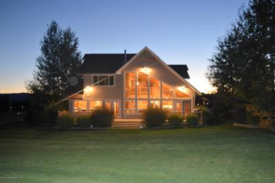 Star Valley Ranch Single Family Home For Sale: 1200 Hardman Rd