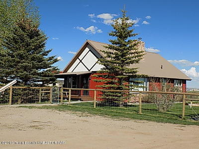 Big Piney WY Single Family Home For Sale: $398,000