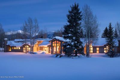 Driggs, Felt, Tetonia, Victor, Alta, Hoback Jct., Jackson, Moran, Teton Village, Wilson Single Family Home For Sale: 155 Huckleberry Drive