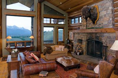 Driggs, Felt, Tetonia, Victor, Alta, Hoback Jct., Jackson, Moran, Teton Village, Wilson Single Family Home For Sale: 2095 N Spirit Dance Rd