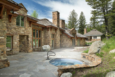 Teton Village Single Family Home For Sale: 7920 N Granite Ridge Rd.