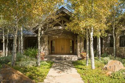 Jackson, Teton Village, Wilson Single Family Home For Sale