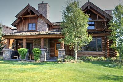 Teton Village, Tetonia, Jackson, Driggs, Alta, Swan Valley, Victor Single Family Home For Sale: 63 Warm Crk