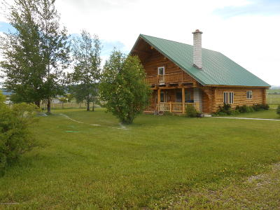 Afton Single Family Home For Sale: 3087 Wy-241