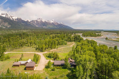 Teton Village Single Family Home For Sale: 1250 W Woody Rd