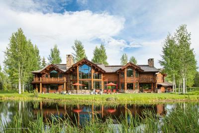 Jackson, Teton Village, Wilson Single Family Home For Sale: 3500 Tucker Ranch Rd