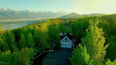 Teton Village, Tetonia, Swan Valley, Victor, Driggs, Jackson, Alta Single Family Home For Sale: 2005 N Pratt Rd