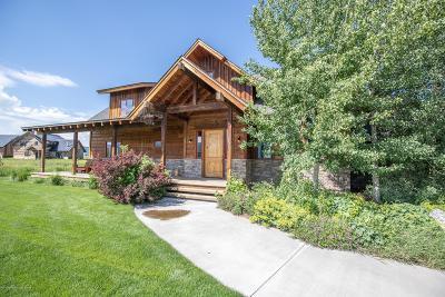 Teton Village, Tetonia, Driggs, Jackson, Victor, Swan Valley, Alta Single Family Home For Sale: 6696 Wild Mustang Trl