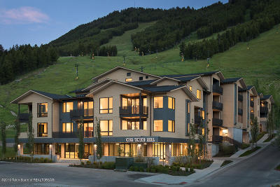 Jackson WY Condo/Townhouse For Sale: $1,200,000