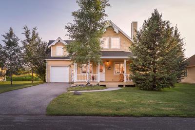 Teton Village, Tetonia, Driggs, Jackson, Victor, Swan Valley, Alta Single Family Home Pending Contingent: 868 Streamside St.