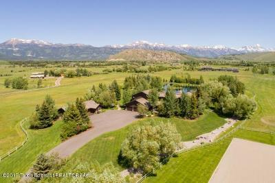 Jackson WY Single Family Home For Sale: $14,900,000