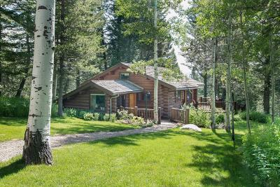 Teton County Single Family Home For Sale: 6855 W Paintbrush Trl