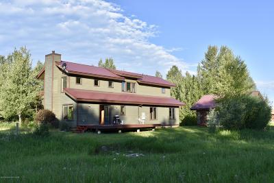 Teton Village, Tetonia, Driggs, Jackson, Victor, Swan Valley, Alta Single Family Home For Sale: 1280 T-C Drive
