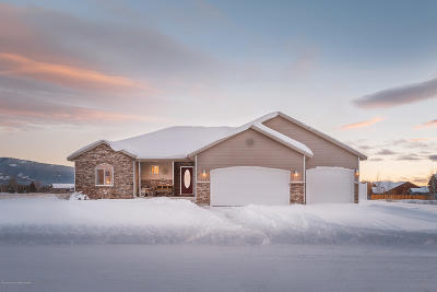 Driggs ID Single Family Home Pending Contingent: $369,000