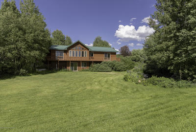 Teton Village, Tetonia, Driggs, Jackson, Victor, Swan Valley, Alta Single Family Home For Sale: 711 E. 4000 S.