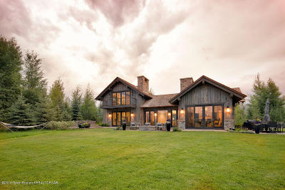 Jackson Single Family Home For Sale: 2785 W Marsh Hawk Ln