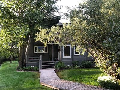 Jackson Single Family Home For Sale: 4550 S Runway Rd