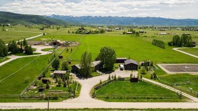 Teton Village, Tetonia, Driggs, Jackson, Victor, Swan Valley, Alta Single Family Home For Sale: 399 E 4000 South