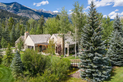 Driggs, Felt, Tetonia, Victor, Alta, Hoback Jct., Jackson, Moran, Teton Village, Wilson Single Family Home For Sale: 3260 N Teton Pines Dr