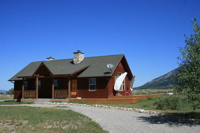 Star Valley Ranch Single Family Home For Sale: 406 Butte Dr
