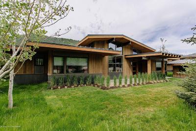 Driggs, Felt, Tetonia, Victor, Alta, Hoback Jct., Jackson, Moran, Teton Village, Wilson Single Family Home For Sale: 14300 S Leader Lane