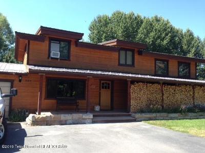 Driggs, Felt, Tetonia, Victor, Alta, Hoback Jct., Jackson, Moran, Teton Village, Wilson Single Family Home For Sale: 3185 S Pitch Fork Dr