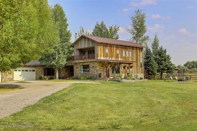 Driggs, Felt, Tetonia, Victor, Alta, Hoback Jct., Jackson, Moran, Teton Village, Wilson Single Family Home For Sale