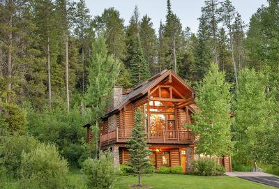 Driggs, Felt, Tetonia, Victor, Alta, Hoback Jct., Jackson, Moran, Teton Village, Wilson Single Family Home For Sale: 18 Blackfoot Trail