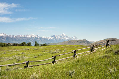 Teton County Residential Lots & Land For Sale: 3935 Matheson Hill Rd