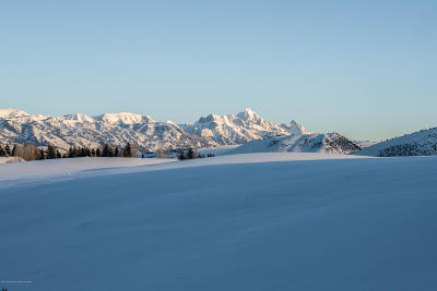 Teton County Residential Lots & Land For Sale: 3975 Matheson Hill Rd