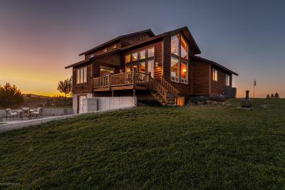 Teton Village, Tetonia, Jackson, Driggs, Victor, Swan Valley, Alta Single Family Home For Sale: 1627 Highland Meadows Dr