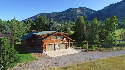 Star Valley Ranch Single Family Home For Sale: 25 Wildcat